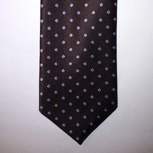 Brooks Brothers Necktie Geometric 100% Silk